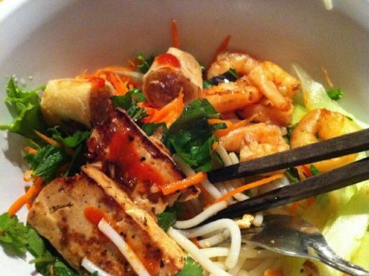 Vietnamese Bun Salad