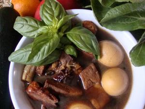 sweet pork stew